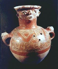 Maya Funerary Urn